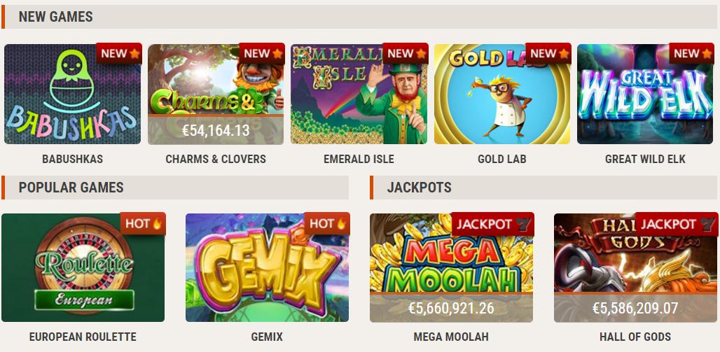 Instacasino, online casino, bonuses, freespins