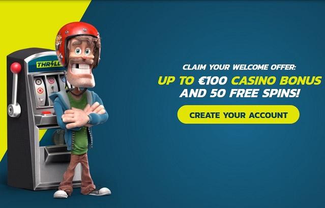 Thrills, Thrills casino, Bonuses, Online casino, casino games